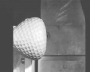 Golf Ball Hitting Steel