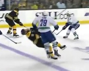 Thumb for Aaron Rome hits Nathan Horton