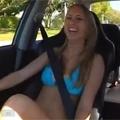Bikini Girl Takes a Ride