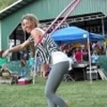 Hooping at a Festival