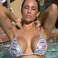 Thumb for Laura Lee in the pool