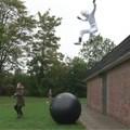 Red Bull Astronaut Stunt
