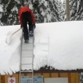 How Not To Clear Snow Off Your Roof