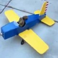 Squirrel Hijacks A Model Airplane