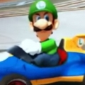 Luigi's Death Stare In Mario Kart 8