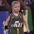 5-Year-Old  Plays for Utah Jazz