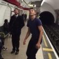 Epic London Underground Ping Pong Battle