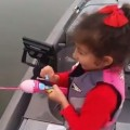 Little Girl Catches Huge Bass