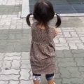 Little Korean Girl Is Adorably Excited