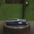 Thumb for Crushing Nokia 3310 with hydraulic press