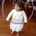 Thumb for Little Girl Tries to Hula Hoop