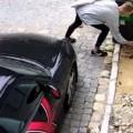 Giant A**hole Keys Up A Porsche