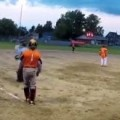 Softball Player Hits An Insane Homerun