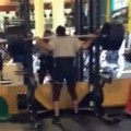 Disastrous Squat Fail At The Gym