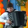 Nerdy Kid Shreds on Accordion