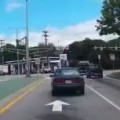 Extremely Bad Driver Causes An Accident