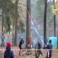 Lumberjack Nearly Killed By Falling Tree