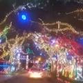 Beautiful Christmas Display Near Jupiter, FL
