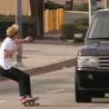 Skater Gets Drilled By An SUV