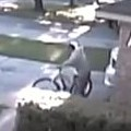 Instant Justice Served To Bike Thief
