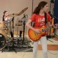 3 Junior-High Girls Expertly Cover Metallica