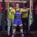 Weightlifter's Knees Give Out During Squat