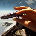 How To Pass Snacks To The Rear Seat Of A Fighter Jet
