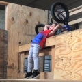 Thumb for 6 Year Old Kid Lands a Backflip on His Bike