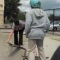 Drunk Mom Embarrasses Son At Skatepark