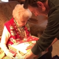 Grandma gets a nice little present