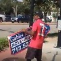 Best Sign Spinner You Will Ever See