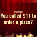 Woman Calls 911 to Order Pizza