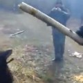 Dog Fetches Biggest Stick Ever