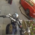 Motorcyclist Trolls People Littering In Public