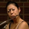 Butterfly Lands On Flutist's Face During Competition