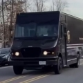 UPS driver gets sweet surprise as he drives through neighborhood
