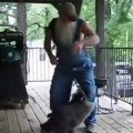 Hillbilly Dances with A Raccoon