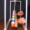 Mesmerizing DIY pendulum wave machine
