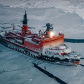 The biggest nuclear ice breaker