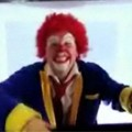 Scary Clown in Real 3D TV Prank