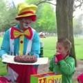 Clown Messes Up Birthday Party